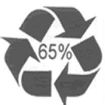 eko etykieta - częściowy recykling