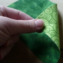 żaba origami - krok 3