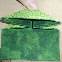 żaba origami - krok 7