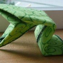 żaba origami - krok 12