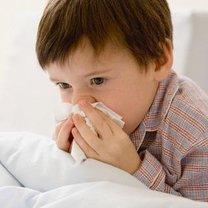 Dziecko smarka nos