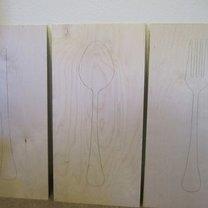 dekoracje ścienne do kuchni - krok 2