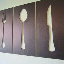 dekoracje na ścianę w kuchni