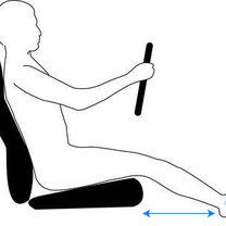 Ustawienie fotela w samochodzie