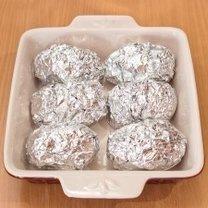 Pieczenie ziemniaków w piekarniku