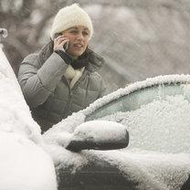 problem z samochodem w zimie