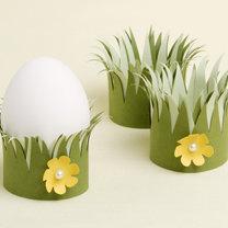Wielkanocne podstawki na jajka