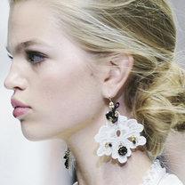 koronkowe kolczyki Dolce & Gabbana