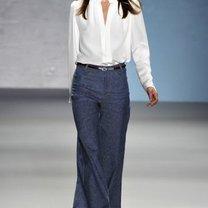 trend wiosna 2011 - szerokie spodnie