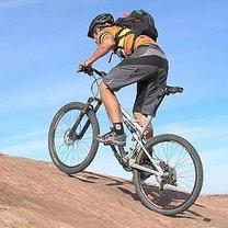 Jazda rowerem pod górkę