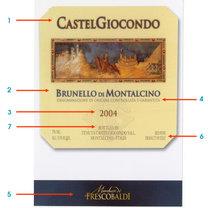 etykieta wina włoskiego