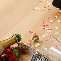 bałagan po przyjęciu