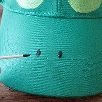 czapka żaba - krok 3