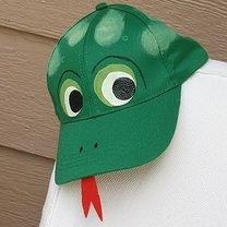 czapka dla dziecka - żaba