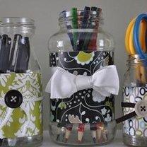 wazon ze słoika - krok 8