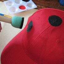 czapka biedronka - krok 2