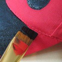 czapka biedronka - krok 3
