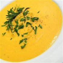 zupa krem z marchwi z imbirem