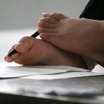 Rysowanie stopami