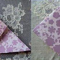 tulipan origami - krok 4