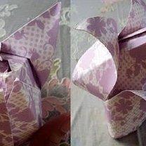 tulipan origami - krok 6