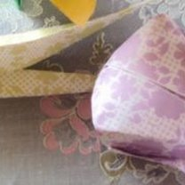 gotowy tulipan origami