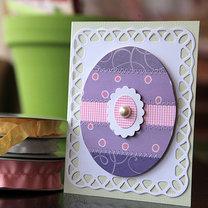 kartka wielkanocna z płyty CD