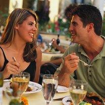 jedzenie w restauracji