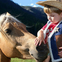 dziecko i koń