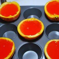 Galaretka z wódką w pomarańczy 5