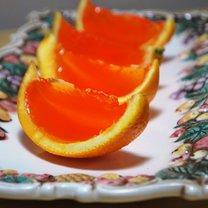 Galaretka z wódką w pomarańczy 7