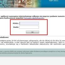 Narodowy Spis Powszechny 2011 przez Internet - 8