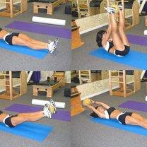 Ćwiczenia na okrągłe plecy 2