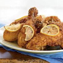 zdrowo usmażony kurczak
