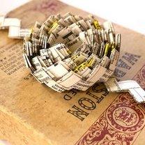 Pakowanie prezentów - papierowy łańcuch
