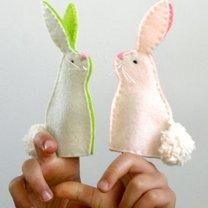 Pacynka króliczek