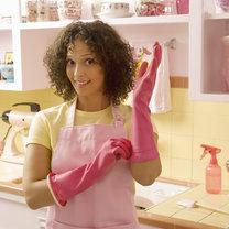 mycie szyb matowych - krok 1