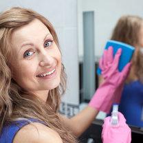 mycie szyb matowych - krok 6
