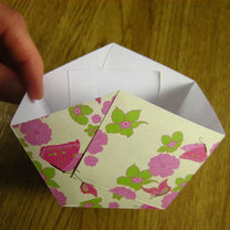 Koszyczek z papieru 3