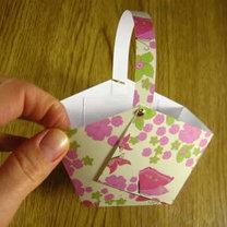 Koszyczek z papieru 5
