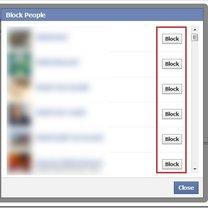 Blokowanie na Facebooku osób