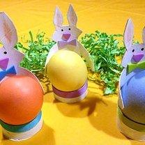 kieliszek na jajko - króliczek