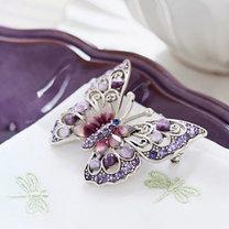Broszka motylek