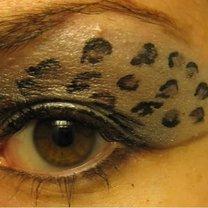 makijaż panterka