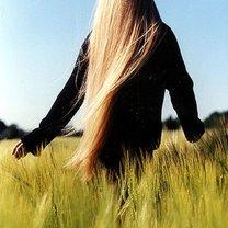 Długie, blond włosy