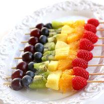 Owocowy szaszłyk