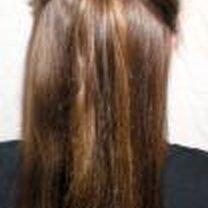 Robienie koka z długich włosów 1