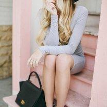 kolory dla blondynek - szary