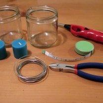 Materiały potrzebne do zrobienia lampionów