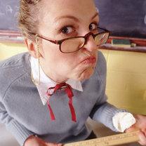 zły nauczyciel